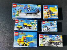 Lot 6 LEGO kits 6564 6470 6325 6649 6324 6431 steet sweeper vehicles rescue