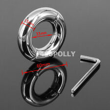 NEW Stainless Steel Penis Stretcher Metal Ball Enhancer Heavy Weight 202g USA