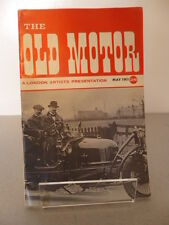 The Old Motor Magazine. Early Copy Of the Old Motor Classic Car Magazine May 63