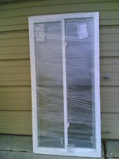"BRAND NEW: Nice ReliaBilt White VINYL House SLIDER WINDOW ( 31"" W x 63"" H )"