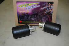 NEW 04-05 YAMAHA FZS600 FZ6 600 BLACK FRAME SLIDERS PROTECTORS LP-101105