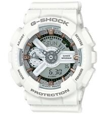 Casio G Shock * GMAS110CM-7A2 S-Series Semigloss White w/Rose Gold COD PayPal