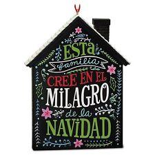 2016 HALLMARK – EL MILAGRO DE LA NAVIDAD – KEEPSAKE ORNAMENT BRAND NEW ��