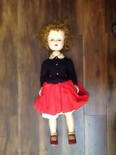 "1950-60 Vintage Madame Alexander Mary Ellen Walker Doll Hard Plastic 31"" tall"