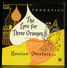 Prokofiev The love for three oranges RSO Rother Russian ov. Steinkopf LP & CV EX