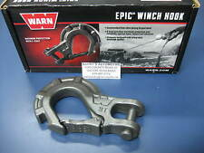 WARN 92090 Replacement 10000 Pound Epic Winch Hook Winch Latch Forged Steel 3/8