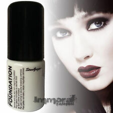 Stargazer Liquid Foundation - Porcelain White - Goth,Gothic,Make Up,Costume,Fanc