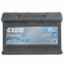 Exide Premium Car Battery 77Ah Type 096 760CCA 4 Years Warranty OEM Replacement