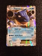 NEW POKEMON Ultra rare BLASTOISE EX (XY30) W/ online code card*MINT/NM FREE SHIP