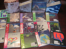 YES SHM-CD Replica's  TO THE ORIGINAL LP JAPAN OBI Sealed 2 Box Sets 18 CD'S