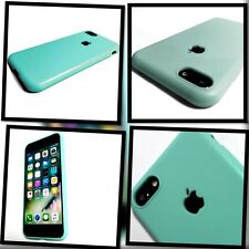 Apple iPhone 7 Original Silicone Rock Cover Case Slimmest Protective Tech Green