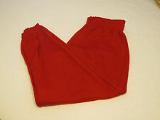 DA Don Alleson Athletic mens XL Baseball Pull up Pant 1 pair red sports NOS