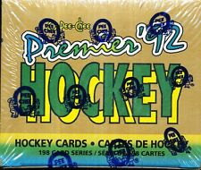 2 SET LOT1991-92 OPC PREMIER FACTORY HOCKEY SEALED