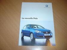CATALOGUE VW Polo d'avril 2005 Suisse