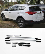 Roof Rack silver color painted alloy For 2013-2015 Toyota RAV4 new