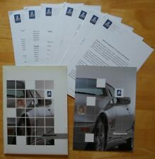 DE TOMASO Mangusta by QVALE rare press pack with brochure 2000 - English