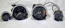 MG MIDGET SPRITE AUSTIN HEALEY SMITH GAUGES SPEEDOMETER TACH FUEL OIL TEMP 77