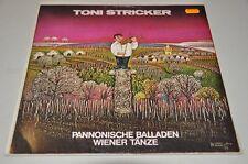 Toni Stricker - Pannonische Balladen - Austro 70er - Album Vinyl Schallplatte LP