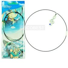 Vocaloid Hatsune Miku Musical Note Pendant Necklace Cosplay Accessory