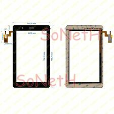 "Vetro Touch screen Digitizer 7,0"" GoClever Elipso 72 TAB M723G 3G Nero"