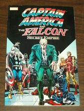 Captain America and Falcon Secret Empire Marvel (Paperback)  9780785118367