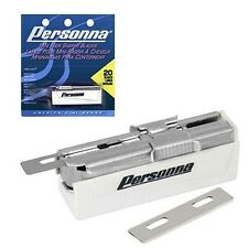 Personna Mini Hair Shaper Shaver Razor Blades Dispenser 20ct