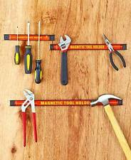 NEW Magnetic Workshop Organizers 3 Piece Tool Holder. 3 different size bars.