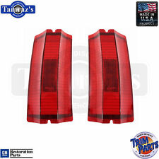 65 El Camino / Station Wagon Outer Taillight Tail Light Lamp Lens USA PAIR