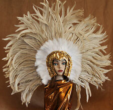 Hand Crafted Feather Headdress (XLH10)