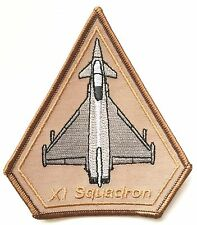 RAF 11 Squadron XI Typhoon Desert Operations Royal Air Force Military Patch