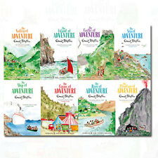 Enid Blyton's Adventure Series Collection 8 Book Set By Enid Blyton's In AU