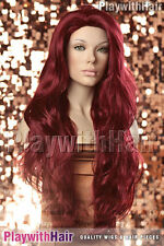 Lush Lengths XXLong Wig Burgundy Red