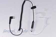 Newest Style! Acoustic Tube Earpiece PTT for Motorola GP300 HYT TC700 Radio 2pin