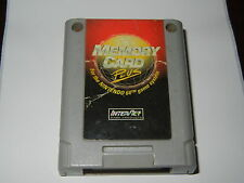 ***INTERACT MEMORY CARD PLUS NINTENDO 64 N64***