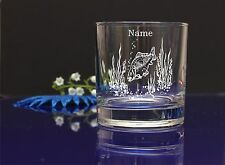 Personalised FISH design SPIRIT Glass CHRISTMAS BIRTHDAY WEDDING/ GIFT PRESENT25