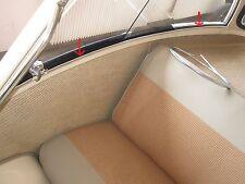 Chrom Leiste Keder für Seitenfenster Innenraum Scheibe BMW Isetta 250 300 NEU