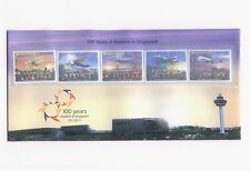 SINGAPORE 100 years of Aviation Presentation Pack PP Stamps