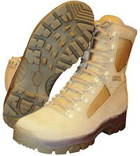 BRITISH ARMY - MEINDL COMBAT DESERT BOOTS - SIZE 6.5 - NEW IN BOX