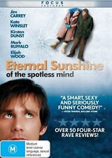 Eternal Sunshine Of The Spotless Mind (2004) Jim Carrey - NEW DVD - Region 4