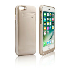 Indigi 4000mAh Rechargeable Protective Battery Case - Gold - iPhone 7 Plus
