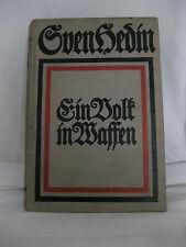 Sven Hedin, un pueblo en armas, 1915, f. u. Brockhaus Verlag