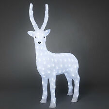Konstsmide Renna acrilico bianco LED 105cm