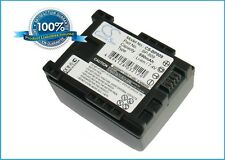 7.4V battery for Canon FS100 Flash Memory Camcorder, Vixia HF10 Li-ion NEW