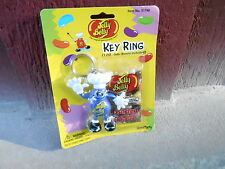 VINTAGE NOS KEYCHAIN (S20C-16) -  JELLY BELLY - BLUE