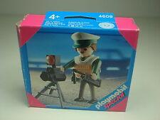 Policia Especial Playmobil 4609 Special Radar Control Velocidad Multa Polizei