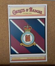 Royal Air force Station Coningsby Crests & Badges of the armed services
