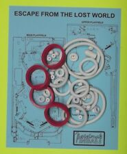 1988 Bally / Midway Escape from the Lost World rubber ring kit