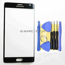 Front Outer Screen Glass Lens for Samsung Galaxy Note Edge SM N915 Black + Tools
