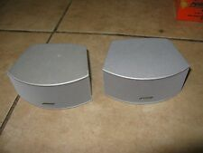 Bose 321 GS Series II III or Cinemate Gemstone Speakers, Silver