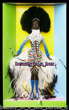 MBILI Barbie Doll Treasures of Africa Byron Lars African American AA VG ""